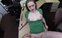 gorgeous blonde woman fucked for cash