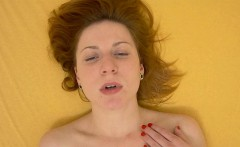 Amazing Redhead has Squirting Orgasm