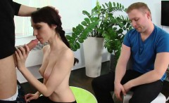 Russian selling his girlfriend