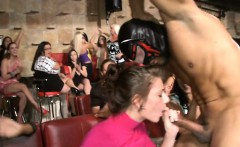 Hot beauties go carzy for whipped cream and strippers