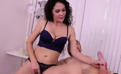 She Made His Cock Titching With Teasing