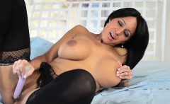 Faustine Lee Sexy Black Nighty Solo