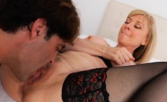 Mama gets impaled on dick and her snatch gets destroyed