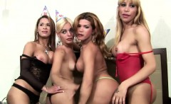 FULL leaked 40min Wild Shemale Orgies party hardcore video