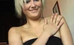 Gorgeous blonde lapdancing