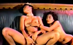 Two Asian bitches lick each others pussies