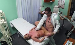 FakeHospital Blonde patient wants hard sex from her doctor