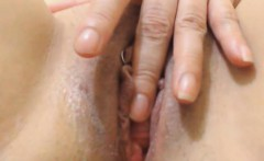 my aunty close up view her wet pussy