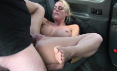 Euro lady gets pussy rammed from behind