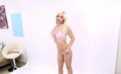 big boob blonde gets fucked at photoshoot casting