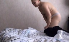 Jana wearing her pantyhose each morning