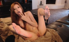 Fingering and toe Licking Elegance On Camera