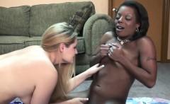 Savanna Knight gets fucked by an ebony slut