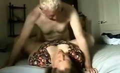 Exciting wife gets pounded deep and hard missionary style b