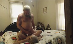 grandma and grandpa having sex on cam. mp4