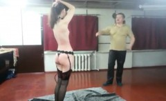 Angela cruel flogged with my whip