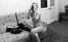 delightful young chick slowly strips until shes completely