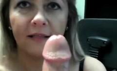 MILF Needs to feel his cum on her big boobs