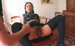 Super horny mature whore with hairy