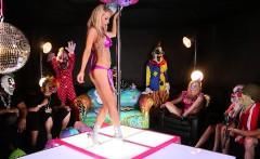 Alix Fucks Leya at the stripclub