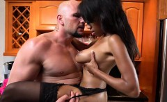 Chesty Ebony Hottie Brittney White Gets Impaled
