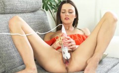 Unusual czech kitten gapes her tight vagina to the peculiar