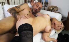 castingallaitaliana blonde newbie in italian anal casting