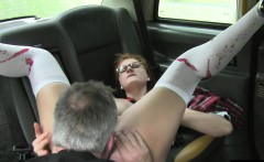 Cosplay passenger banged in taxi