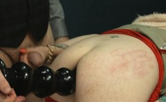 BDSM hardcore action with ropes and glamorous sex