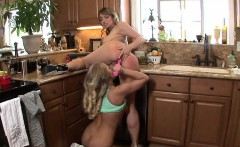 Maya Hills and Britney are lesbian girls who love to sit...
