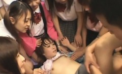 Very sinful hotties from asia get tortured and drilled hard