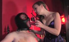 Blowjob humiliation treatment for male sub