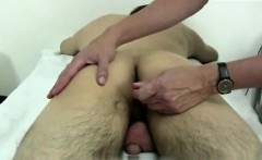 Gay doctor undresses naked young man Keith has a indeed supe