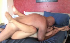 layla adams gets pounded by an older dude