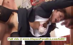 Mihiro Chinese girl gets a subway fucking