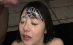 Bukkake Shower Japanese Cutie