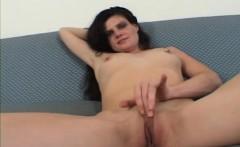 brunette mommy sucking fucking big dong interracial