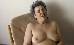OmaPass homemade hairy granny masturbation