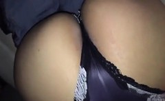 hot ass chick gives me some head in the car