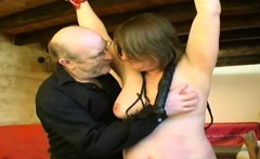 Estelle tied and anal fucked