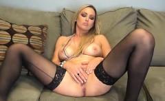 Gorgeous Abbey Brooks is Masturbating Solo
