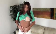 Sexy and Young Cassandra Nix Masturbating