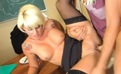 Blonde Teachers Pussy Streched Summer Storm