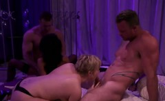 Amateur swinger party reality show babes group