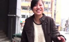Asian cutie in pantyhose