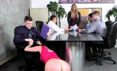 Horny Ryan Smiles fucks at office