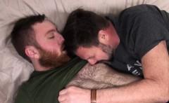 Mature bear fingering cubs tight ass