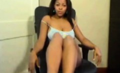 Ebony big tits show webcam by oopscams