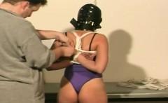 kinky action as wild babe banged in bondage action