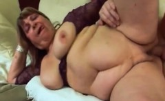 blonde granny dominika takes younger cock in pussy